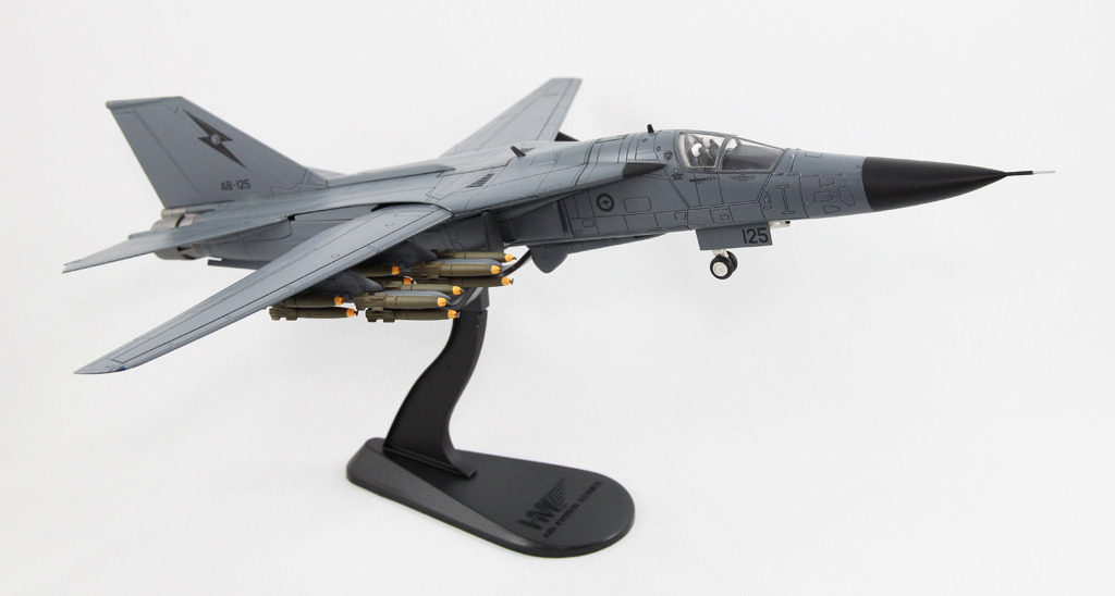 ... about Hobby Master 1/72 HA3008 F-111C A8-125 RAAF,