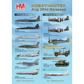 Hobby Master Release Information - August 2014