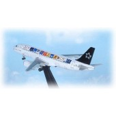 """Dragon Models 1:400 Austrian Airlines A330 + A320 Set """"Star Alliance"""" (Twin Pack)"""