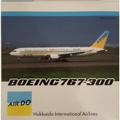 Gemini Jets Die-cast model 1:400  Air Do (formerly Hokkaido International Airlines) 767-300(W)
