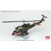 "Hobby Master 1/72 Bell UH-1C Huey Frog Shark Gunship #66-15161 174th AHC, 1st Aviation Brigade II Corps, Vietnam 1971 ""Surfer Girl"""