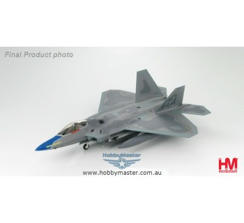 """Hobby Master 1/72 Lockheed F-22 """"Raptor"""" 192nd Fighter Wing """"Cripes A'Mighty"""""""
