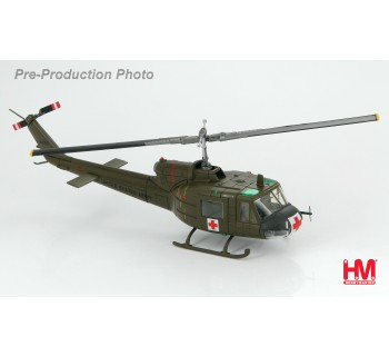"""Hobby Master 1/72  HH1007 Bell UH-1B Huey  US Army 57th Medical Det, """"Dust Off 90"""", Vietnam, 1964"""