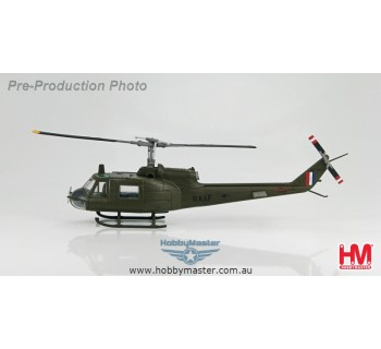 """Hobby Master 1/72 Helicopter UH-1B Iroquois RAAF """"A2-1020"""" """"Battle of Long Tan"""" 1966"""