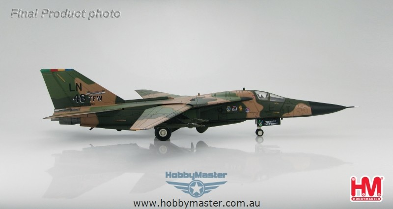 "Hobby Master 1/72 F-111C ""70-2390"" 48th TFW CO. Nov 1991 ..."
