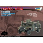 Dragon Armor 60059 M1114 HMMWV, 1-36 Infantry, 1st Armored Division, Baghdad 2004