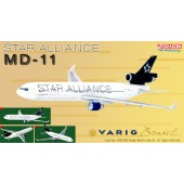 "Dragon Models 1:400 Varig Brasil MD-11 ""Star Alliance"" ~ PP-VTH"