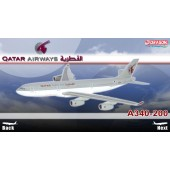 Dragon Models 1:400 Qatar Airways A340-200 ~ A7-HHK