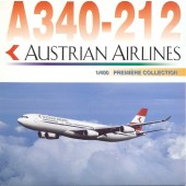 Dragon Models 1:400 AUSTRIAN AIRLINES Airbus A340-212