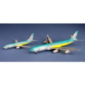 Dragon Models 1:400 BWIA A340-300 ~ 9Y-TJN + 737-800 ~ 9Y-GND (Twin Pack)
