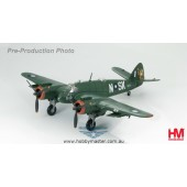 "Hobby Master 1/72 Bristol Beaufighter Mk.21 N-SK A8-116, 93 Squadron, RAAF ""Green Ghost"", 1945 ""Babs""  ""pistol packin' gremlin"""