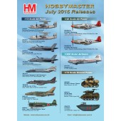 Hobby Master Release Information - July 2015