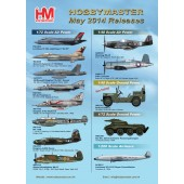 Hobby Master Release Information - May 2014