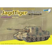 Dragon Armor 60111 Jagdtiger Porsche Production w/Zimmerit, s.Pz.Jg.Abt.653, Alsace 1945
