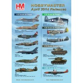 Hobby Master Release Information - April 2014