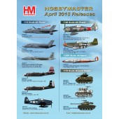 Hobby Master Release Information - April 2015