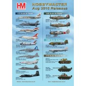 Hobby Master Release Information - August 2015