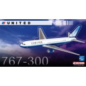 Dragon Models 1:400 United Airlines 767-300 ~ N649UA (New Livery)