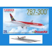 Dragon Models 1:400 Brazil Ocean Air 767-300 w/Runway Section