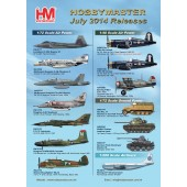 Hobby Master Release Information - July 2014