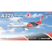"Dragon Models 1/400 Turkish Airlines A321 ""Turkish Airlines Euroleague"" TC-JRO"