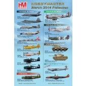 Hobby Master Release Information - March 2014